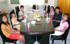 KMF tests concept & story on Cambodian children